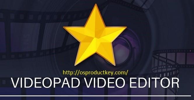 VideoPad Video Editor 8.95 Crack + Keygen Download