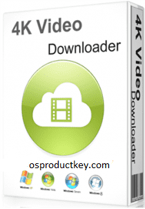 4K Video Downloader 4.12.3.3650 Crack with Key Latest Version 2020