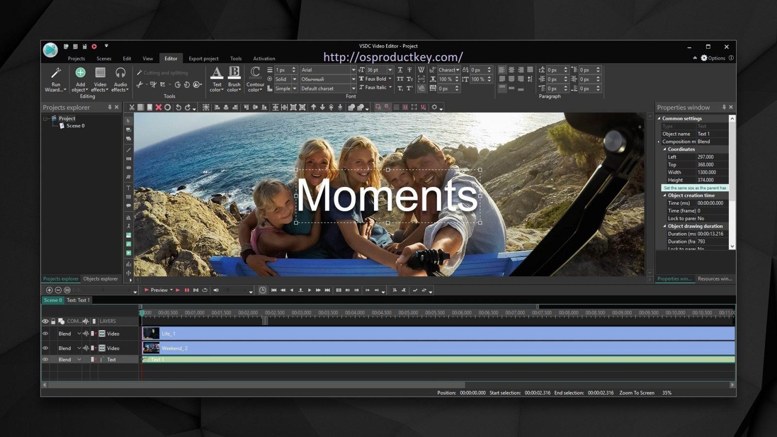 VSDC Video Editor Pro 6.5.4 Activation Key + Crack Full Version 2020