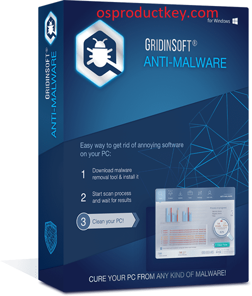 GridinSoft Anti-Malware 4.0.38 Key + Activation Code Latest Version 2019