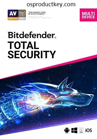 Bitdefender Total Security 2019 Serial Key Crack Full Version Free Download