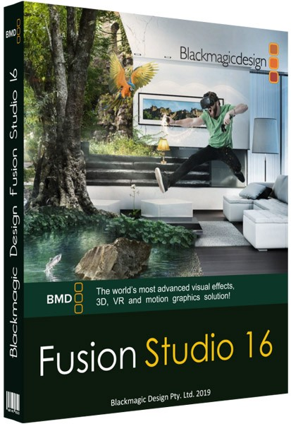 Blackmagic Fusion 16.1 Keygen + Crack Full [Mac + Win] 2020 - Software
