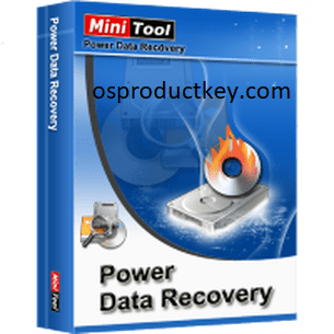 MiniTool Power Data Recovery V8.5 License Key with Crack  Full Version