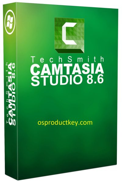 Camtasia Studio 8.6 Product Key + Crack {Full + Final} Free Download