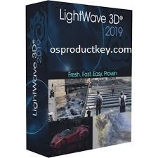 NewTek LightWave 3D 2019.1.3 Build 3132 (x64) Crack + License Key Free