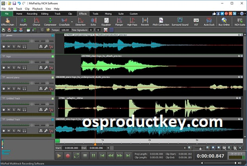 MixPad 7.58 Crack With Registration Code Free Download