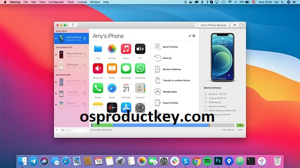 iMazing 2.14.0 Crack With Activation Number Free Download