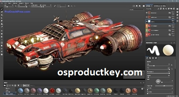 Substance Painter 7.2.2.1163 Crack With Activation Code Free